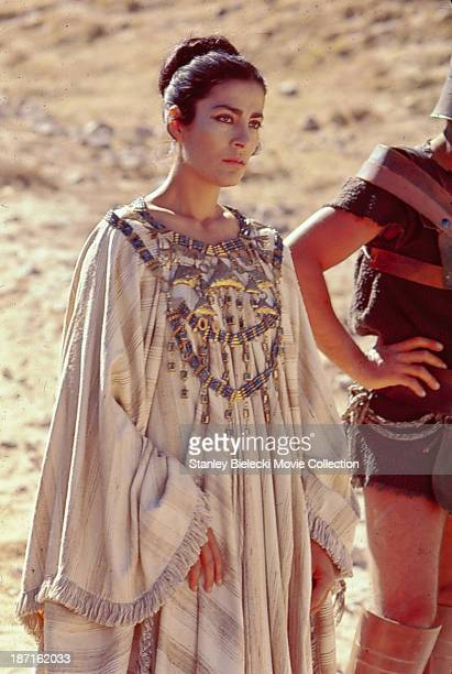 Actress Irene Papas in a scene from the film 'The Trojan Women' 1971