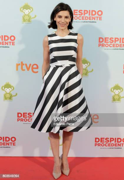 Actress Irene Visedo attends the 'Despido procedente' photocall at Callao cinema on June 29 2017 in Madrid Spain