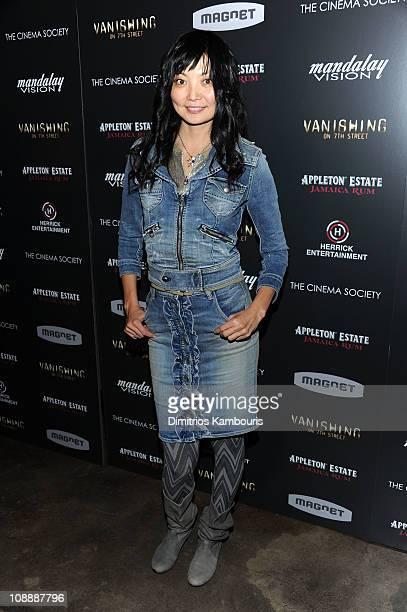 Actress Irina Pantaeva attends the Cinema Society screening of 'Vanishing On 7th Street' at IFC Center on February 7 2011 in New York City