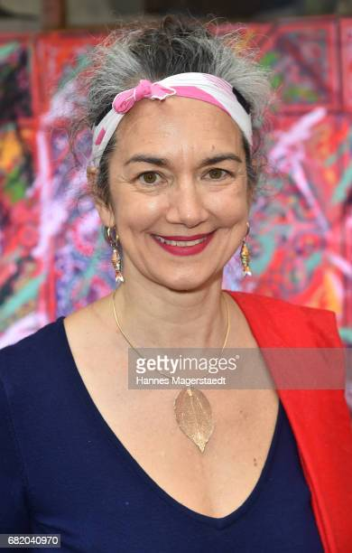 Actress Irina Wanka during 'Maximilian Seitz EinwicklungenImpressionismusFest im Orient' Exhibition Opening at Susanne Wiebe Fashion Store on May 11...