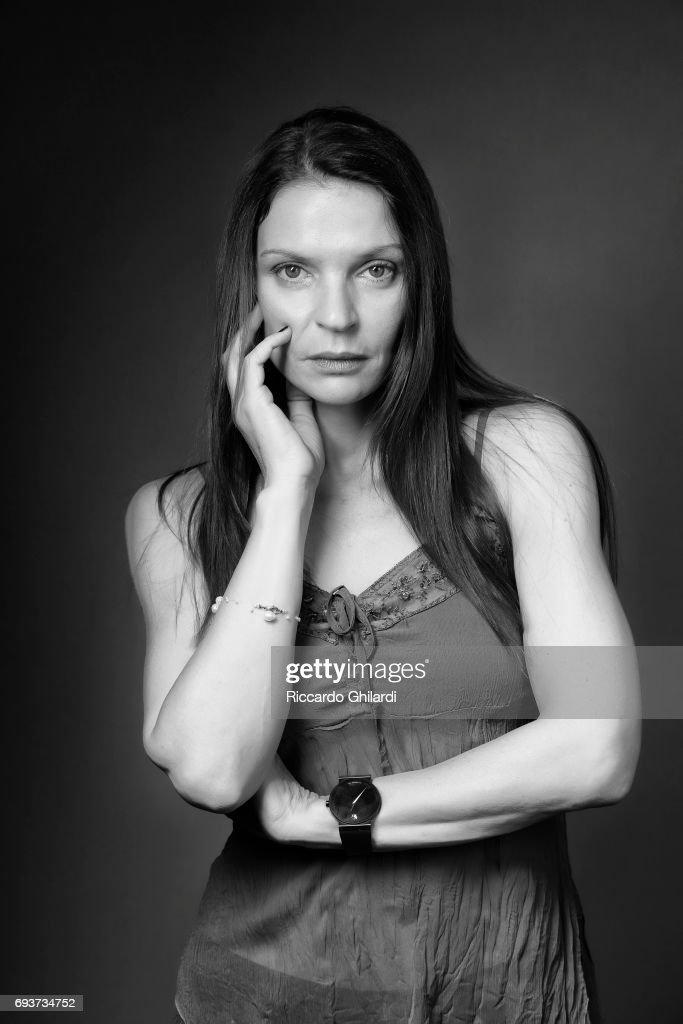 Actress Irini Jambonas is photographed for Self Assignment on May 27, 2017 in Cannes, France.