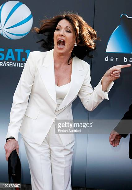 Actress Iris Berben attends the 'Bayerischer Fernsehpreis 2010' at the Prinzregententheater on May 21 2010 in Munich Germany
