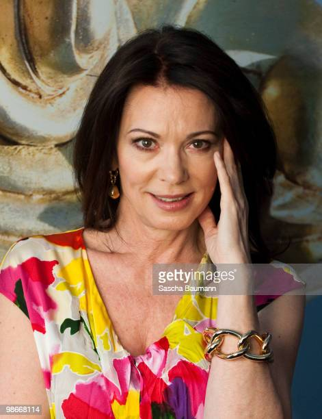 Actress Iris Berben attends the BURDA LIVE at the Burda Medien Park Verlage on April 26 2010 in Offenburg Germany