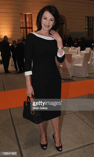 Actress Iris Berben attends the Leo Baeck Award at the Jewish Museum on November 16 2011 in Berlin Germany