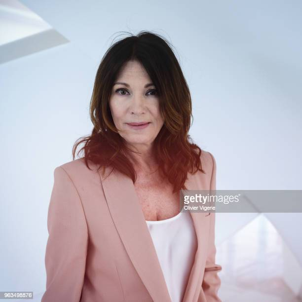 Actress Iris Berben is photographed for Self Assignment on April 2018 in Cannes France
