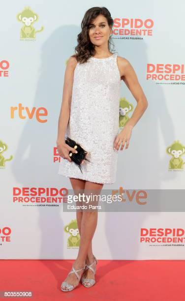 Actress Iris Lezcano attends the 'Despido procedente' photocall at Callao cinema on June 29 2017 in Madrid Spain