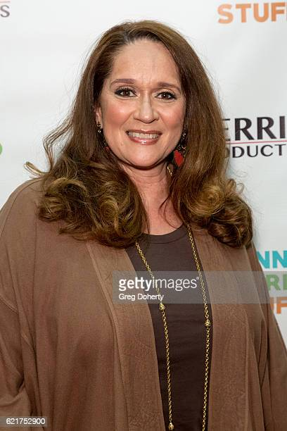 Actress Iris Little Thomas arrives for the Screening Of Perrine Productions' 'Funny Married Stuff' at the ACME Comedy Theatre on November 7 2016 in...