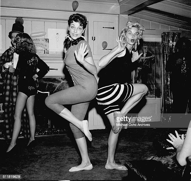 Actress Irish McCalla attends a party in Los AngelesCA