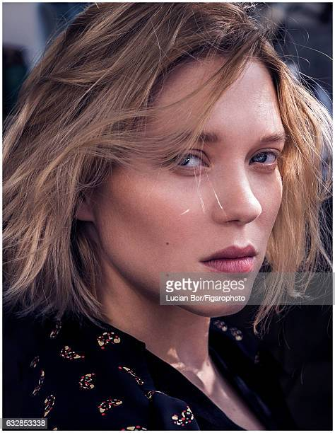 Actress is photographed for Madame Figaro on September 22 2016 in Paris France All Makeup by Dior CREDIT MUST READ Lucian Bor/Figarophoto/Contour by...