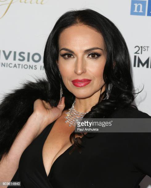 Actress Isabel Cueva attends the National Hispanic Media Coalition's 21st annual Impact Awards at the Beverly Wilshire Four Seasons Hotel on February...
