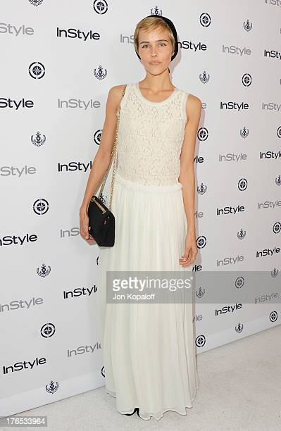 Actress Isabel Lucas arrives at the 13th Annual InStyle Summer Soiree at Mondrian Los Angeles on August 14 2013 in West Hollywood California