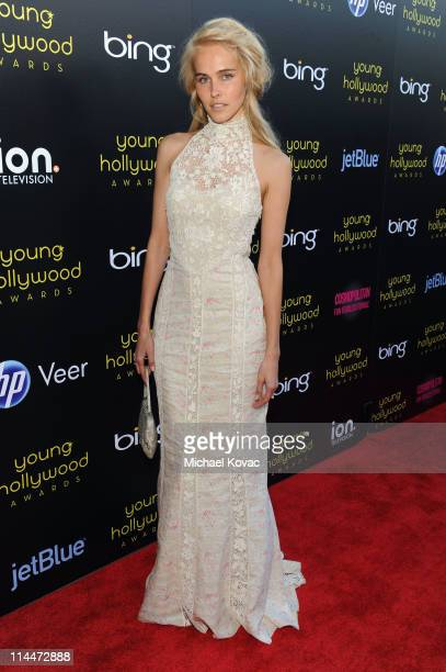 Actress Isabel Lucas arrives at the 2011 Young Hollywood Awards presented by Bing at Club Nokia on May 20 2011 in Los Angeles California