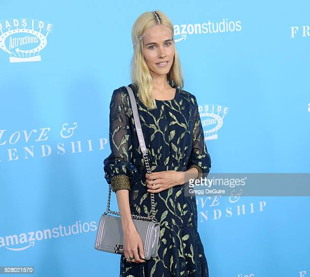 Actress Isabel Lucas arrives at the premiere of Roadside Attractions' 'Love And Friendship' at Directors Guild Of America on May 3 2016 in Los...