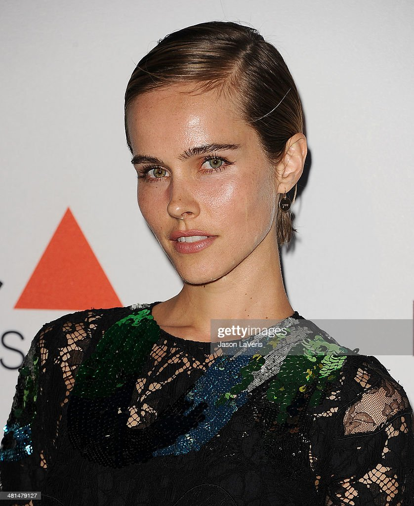 Actress Isabel Lucas attends the MOCA 35th anniversary gala celebration at The Geffen Contemporary at MOCA on March 29, 2014 in Los Angeles, California.