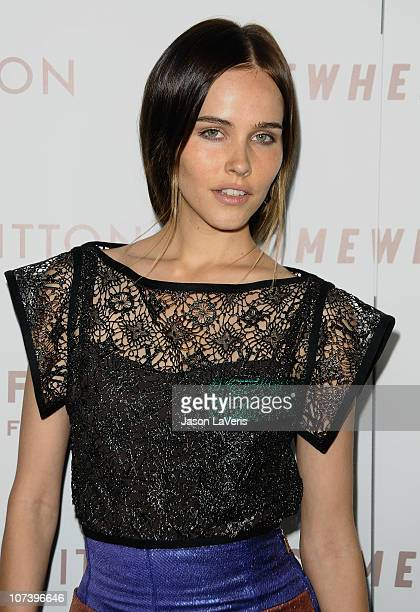 Actress Isabel Lucas attends the premiere of Somewhere at ArcLight Hollywood on December 7 2010 in Hollywood California