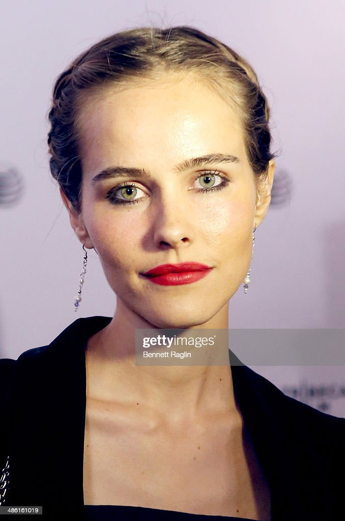 Actress Isabel Lucas attends the screening of 'Electric Slide' during the 2014 Tribeca Film Festival at Chelsea Bow Tie Cinemas on April 22, 2014 in New York City.