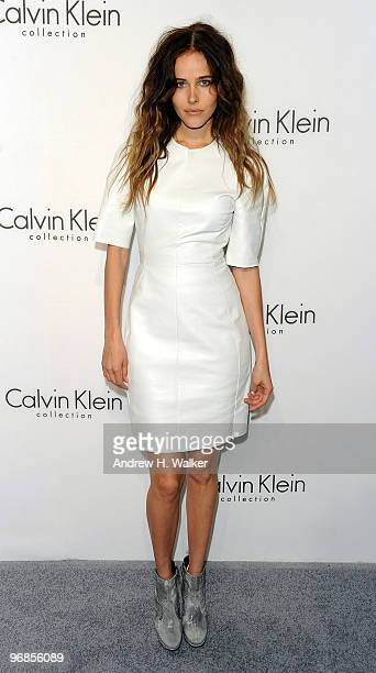 Actress Isabel Lucas attends the Women's Fall 2010 Calvin Klein Collection after party on February 18 2010 in New York City
