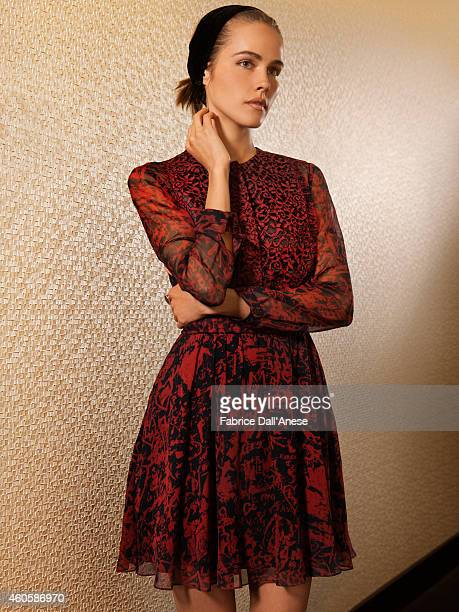 Actress Isabel Lucas is photographed for Vanity Fair Italy on April 23 2014 in New York City