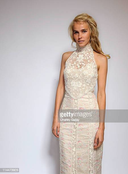 Actress Isabel Lucas, recipient of the Female Star of Tomorrow award, poses for a portrait at the 2011 Young Hollywood Awards presented by Bing at...