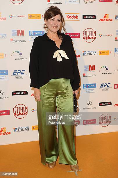 Actress Isabel Ordaz attends the 14th Jose Maria Forque Cinema Awards ceremony at the Palacio de Congresos on January 14 2009 in Madrid Spain