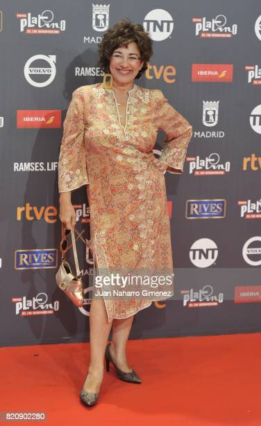 Actress Isabel Ordaz attends the 'Platino Awards 2017' photocall at La Caja Magica on July 22 2017 in Madrid Spain