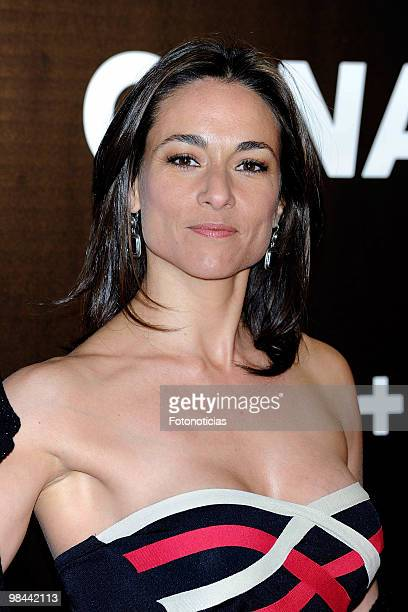 Actress Isabel Serrano attends 'Alicia en el Pais de las Maravillas' premiere at Proyecciones Cinema on April 13 2010 in Madrid Spain
