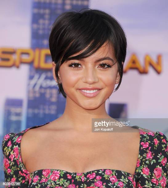 Actress Isabela Moner arrives at the Los Angeles Premiere 'SpiderMan Homecoming' at TCL Chinese Theatre on June 28 2017 in Hollywood California