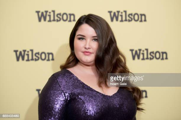 Actress Isabella Amara attends the 'Wilson' New York screening at the Whitby Hotel on March 19 2017 in New York City