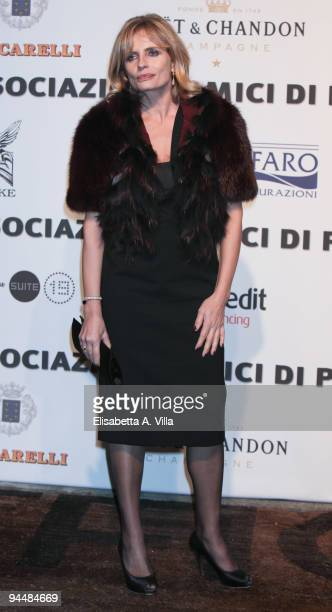 Actress Isabella Ferrari attends Gala Dinner In Favour Of Pietro Gamba Association at Officine Farneto on December 15 2009 in Rome Italy