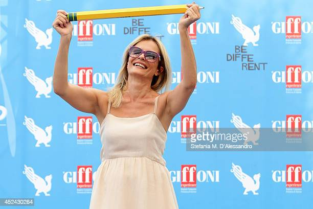 Actress Isabella Ferrari attends Giffoni Film Festival photocall on July 20 2014 in Giffoni Valle Piana Italy