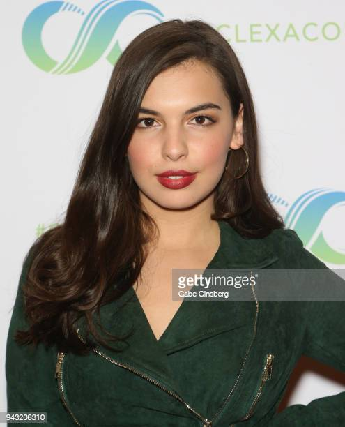 Actress Isabella Gomez attends the Cocktails for Change fundraiser hosted by ClexaCon to benefit Cyndi Lauper's True Colors Fund at the Tropicana Las...