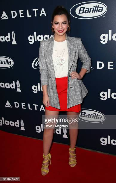 Actress Isabella Gomez attends the inaugural GLAAD Rising Stars Luncheon at The Beverly Hilton Hotel on March 31 2017 in Beverly Hills California