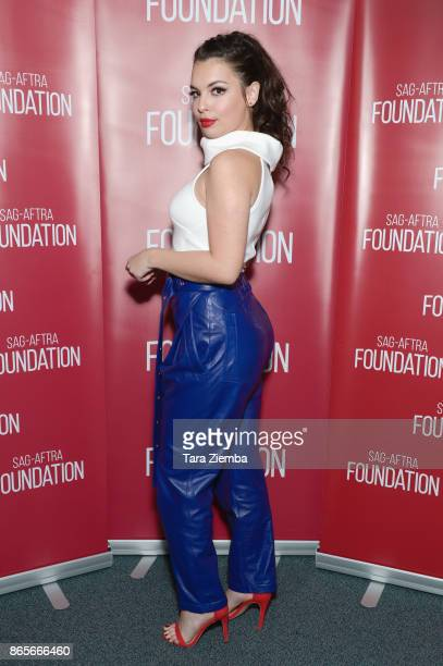 Actress Isabella Gomez attends the SAGAFTRA Foundation conversations and screening of 'One Day At A Time' at SAGAFTRA Foundation Screening Room on...