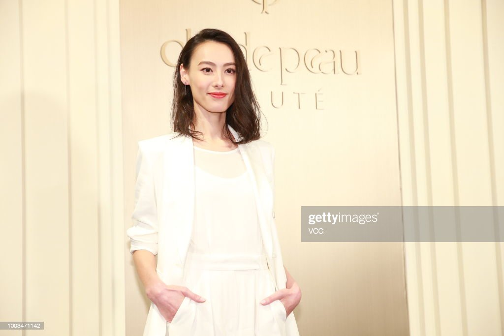 Isabella Leong Attends Cle de Peau Beaute Event In Hong Kong