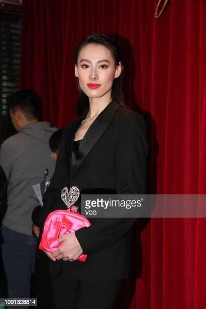 Actress Isabella Leong attends Roger Vivier Spring/Summer 2019 collection event on January 8 2019 in Hong Kong China