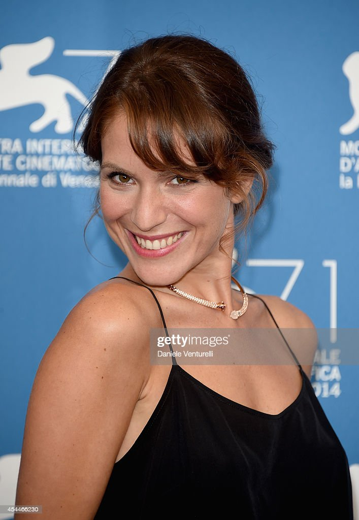 Actress Isabella Ragonese attends 'Il Giovane Favoloso' Photocall during the 71st Venice Film Festival at Palazzo Del Casino on September 1, 2014 in Venice, Italy.