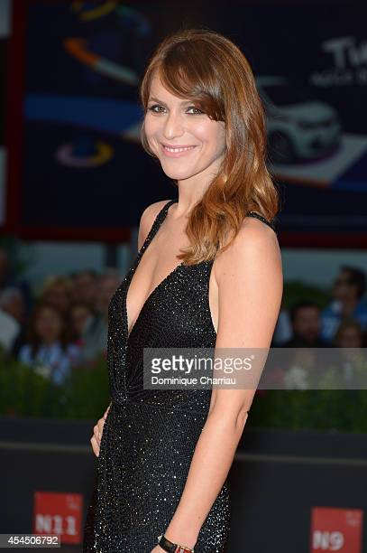 Actress Isabella Ragonese attends the 'A Pigeon Sat On A Branch Reflecting On Existence' premiere during the 71st Venice Film Festival at Sala Grande...