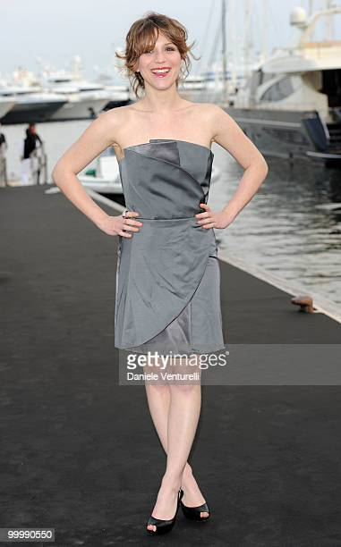Actress Isabella Ragonese attends the Fair Game Cocktail Party hosted by Giorgio Armani held aboard his boat 'Main' during the 63rd Annual...