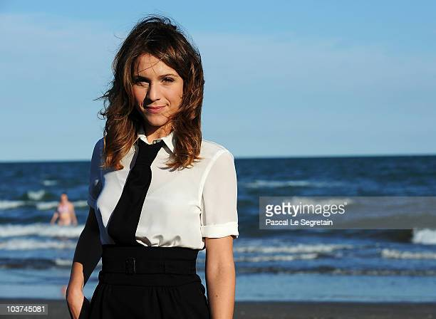Actress Isabella Ragonese attends the Festival Host Isabella Ragonese Photocall during the 67th Venice Film Festival on August 31 2010 in Venice Italy