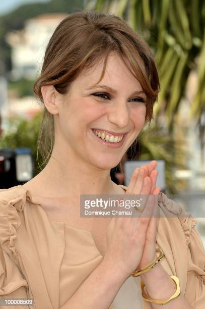 Actress Isabella Ragonese attends the 'Our Life' Photo Call held at the Palais des Festivals during the 63rd Annual International Cannes Film...