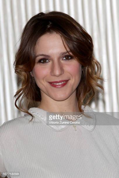 Actress Isabella Ragonese attends the 'Un Altro Mondo' photocall held at Terrazza Martini on December 21 2010 in Milan Italy
