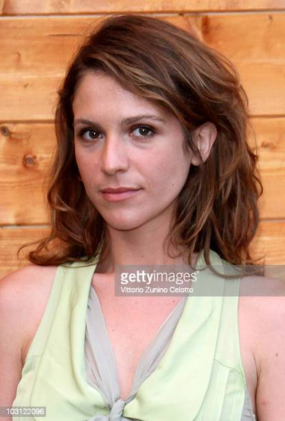 Actress Isabella Ragonese poses for a portrait session during Giffoni Experience 2010 on July 26 2010 in Giffoni Valle Piana Italy