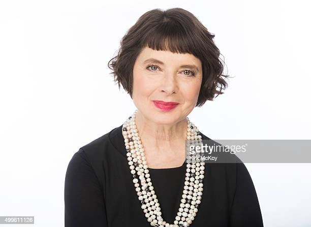 Actress Isabella Rossellini is photographed for Los Angeles Times on November 13 2015 in Los Angeles California PUBLISHED IMAGE CREDIT MUST READ Kirk...