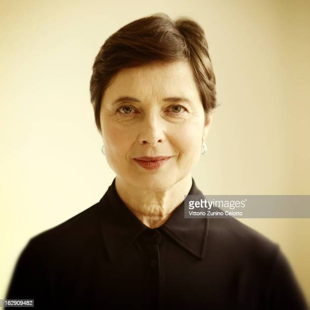 Actress Isabella Rossellini is photographed for Self Assignment on February 8 2013 in Berlin Germany