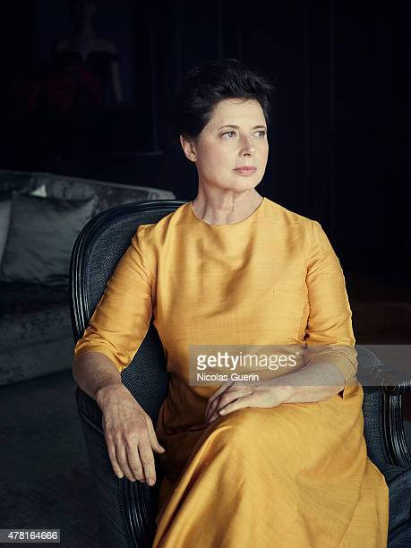 Actress Isabella Rossellini is photographed for Self Assignment on May 15 2015 in Cannes France