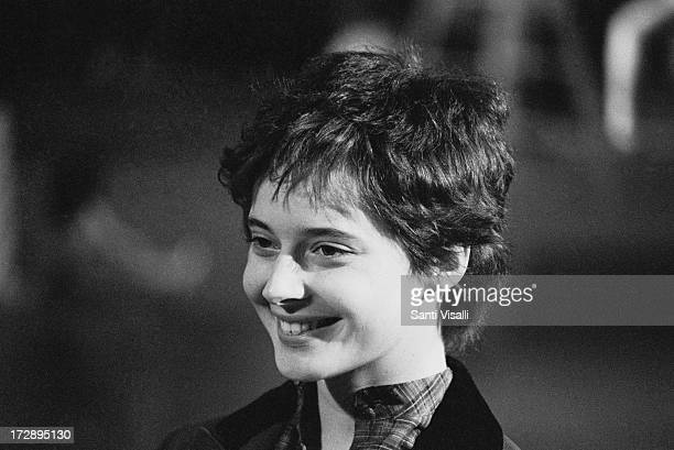 Actress Isabella Rossellini posing for a portrait on March 31980 in New York New York
