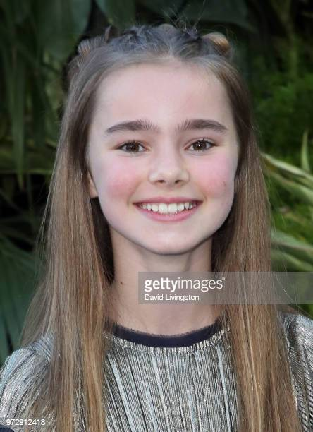 Actress Isabella Sermon attends the premiere of Universal Pictures and Amblin Entertainment's Jurassic World Fallen Kingdom at Walt Disney Concert...