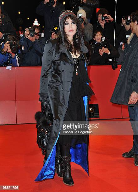 Actress Isabelle Adjani attends the 'Mammuth' Premiere during day nine of the 60th Berlin International Film Festival at the Berlinale Palast on...