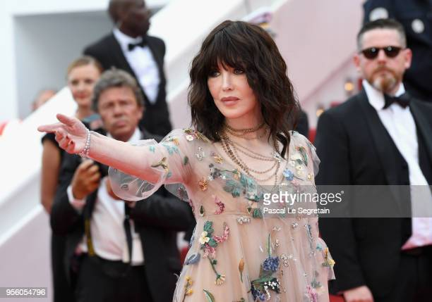 Actress Isabelle Adjani attends the screening of 'Everybody Knows ' and the opening gala during the 71st annual Cannes Film Festival at Palais des...