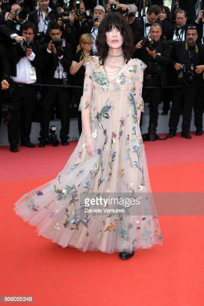 Actress Isabelle Adjani attends the screening of Everybody Knows and the opening gala during the 71st annual Cannes Film Festival at Palais des...